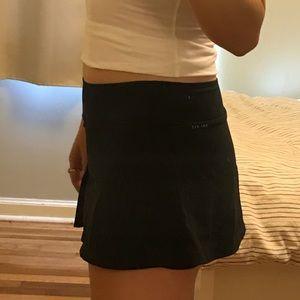 Nike Skirts - Nike black ruffles running tennis skirt skort